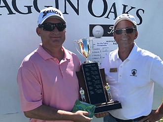 2017 champion Michael Angel with Tournament Director Mike Fleming