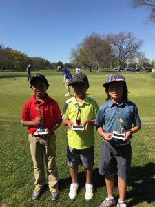 Boys 7-9: Ayden Febres, Marc Paracuelles, Niko Sato