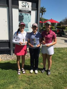 Girls 15-18: Sienna Lyford, Elizabeth Lu, Vanessa Richani