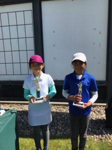 Girls 7-9: Anita Lumpongpoung, Angelie Bahadur