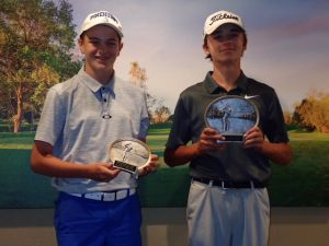 Boys 14-15: Ryan Nelson, Jacob Van Roekel