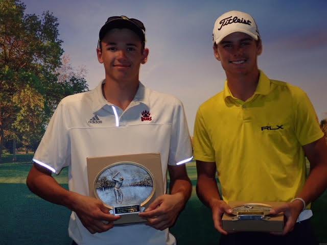 Boys 16-18: Garrett Boe, Cooper Hunt