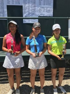 Alexis Esguerra, Yena Jang, Helen Yee, 15-18 Girls