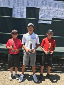 Andre Zhang, Reese Sato, Samuel Stagno, 12-13 Boys