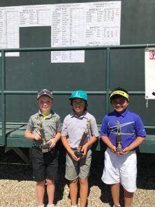 Reid Bulman,Niko Sato,Druz Sanchez, 7-9 Boys