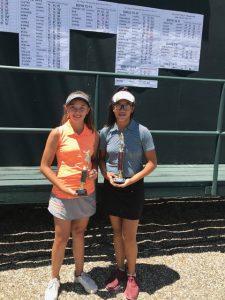 Tess Fernandez, Haley Wong, 12-14 Girls