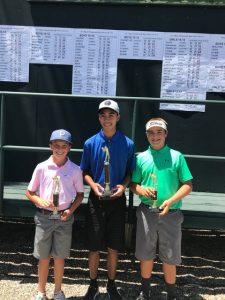 Will Phelan, Patrick Dumag, Brady Siravo, 14-15 Boys