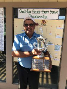 2018 Senior champion John Jaramillo