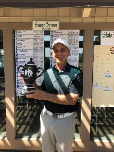 2018 Super Senior champion Mark Maltzer