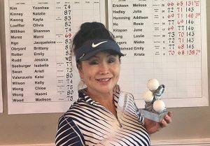 2018 Handicap winner Melissa Erickson