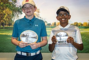 Boys 12-13: Max Thomas 1st place, Aniruddah Mohan 2nd place
