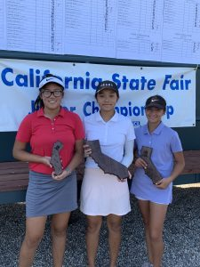 12-14 Girls: Haley Wong, Christine Yu, Amelia Garibaldi