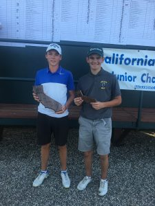 14-15 Boys: Logan Green, Jack Fidler