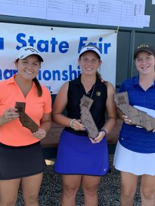 15-18 Girls: Lauren Garces, Hanna Montgomery, Katelyn Harris