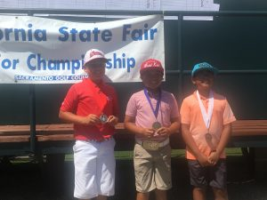 Boys 10-11: Tanner Solis, Landon Abalateo, Marc Paracuelles
